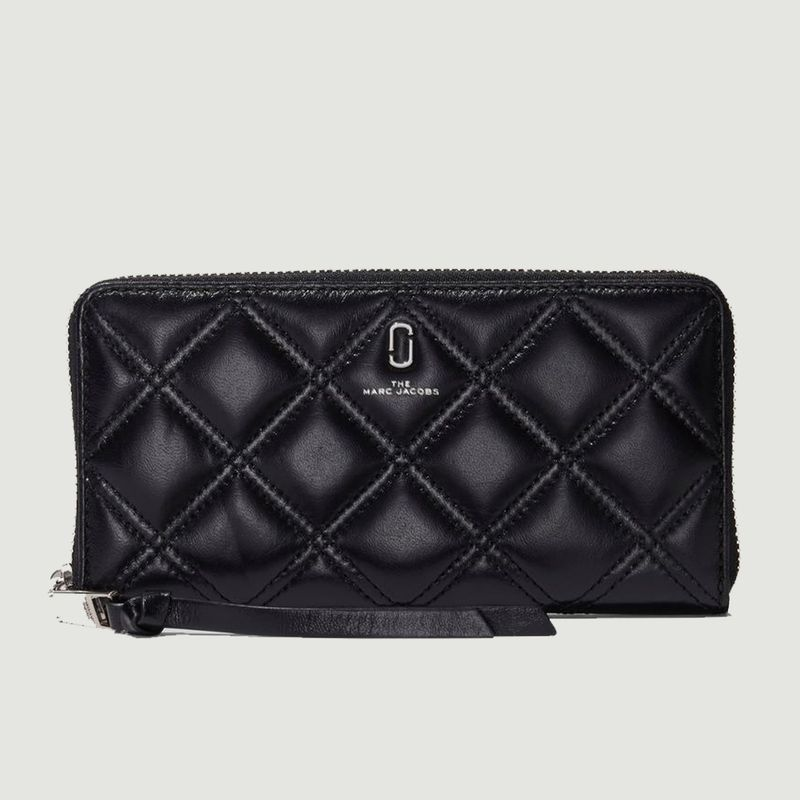 Portefeuille The Quilted Softshot Standard Continental - The Marc Jacobs