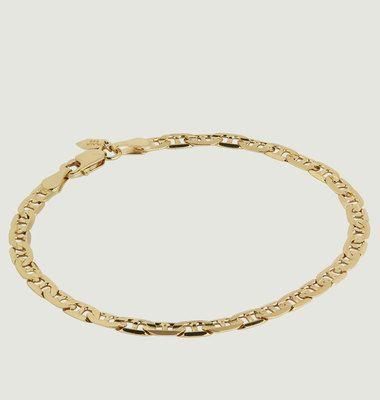 Bracelet Plaqué Or Carlo