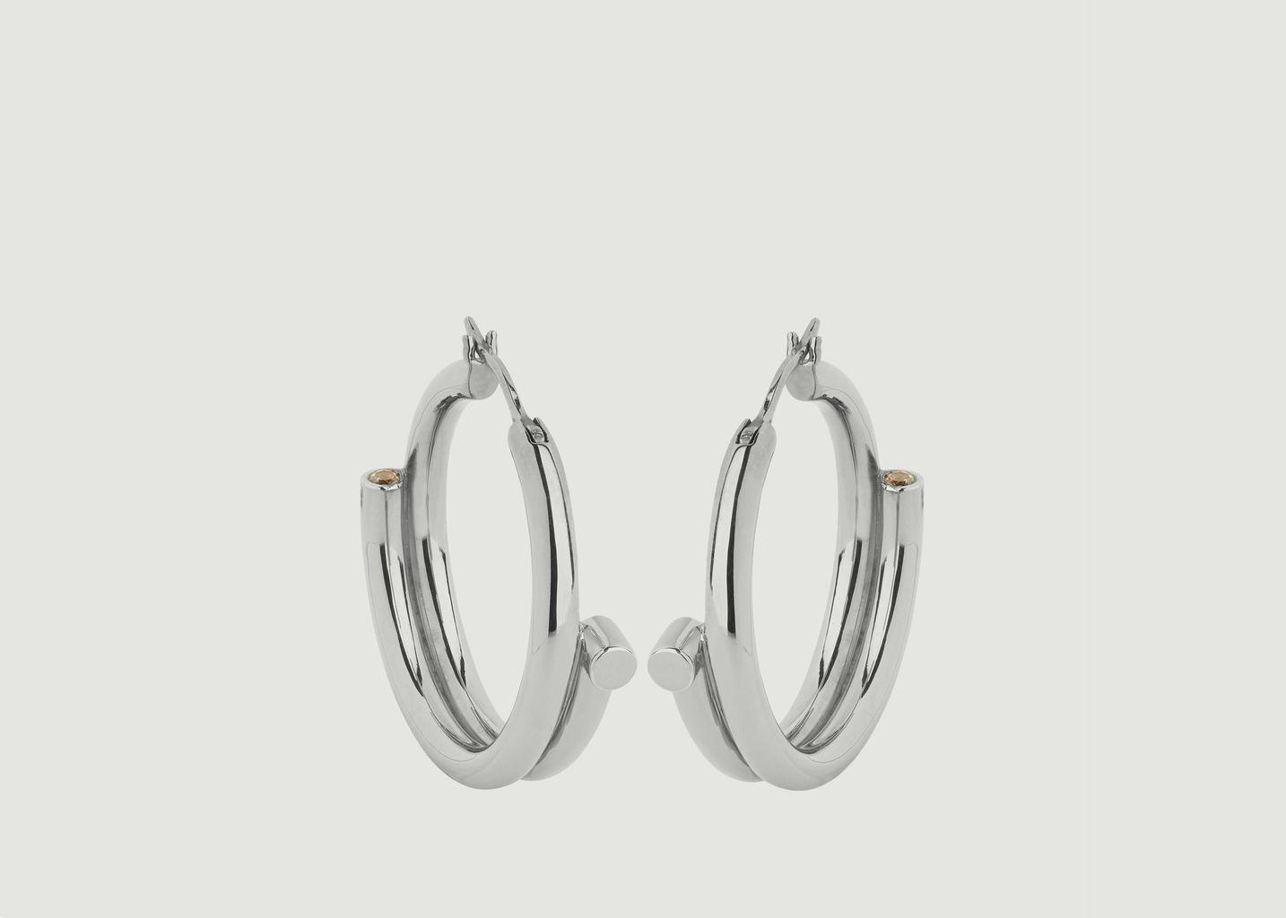 Boucles d'Oreilles Genie  - Maria Black