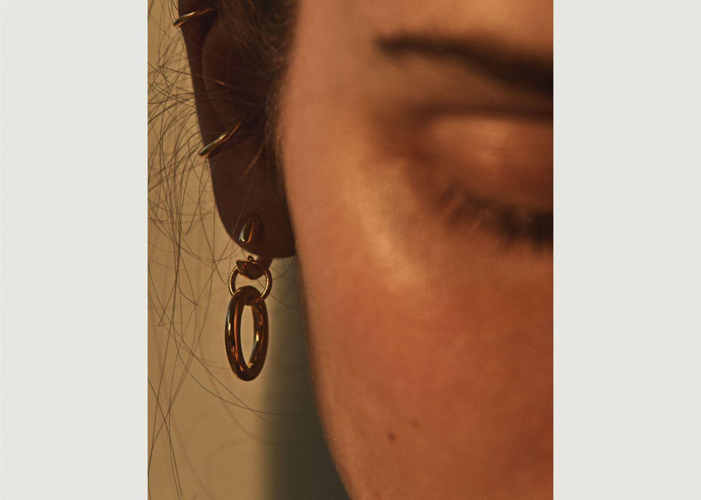 Boucles d'Oreilles Dogma - Maria Black
