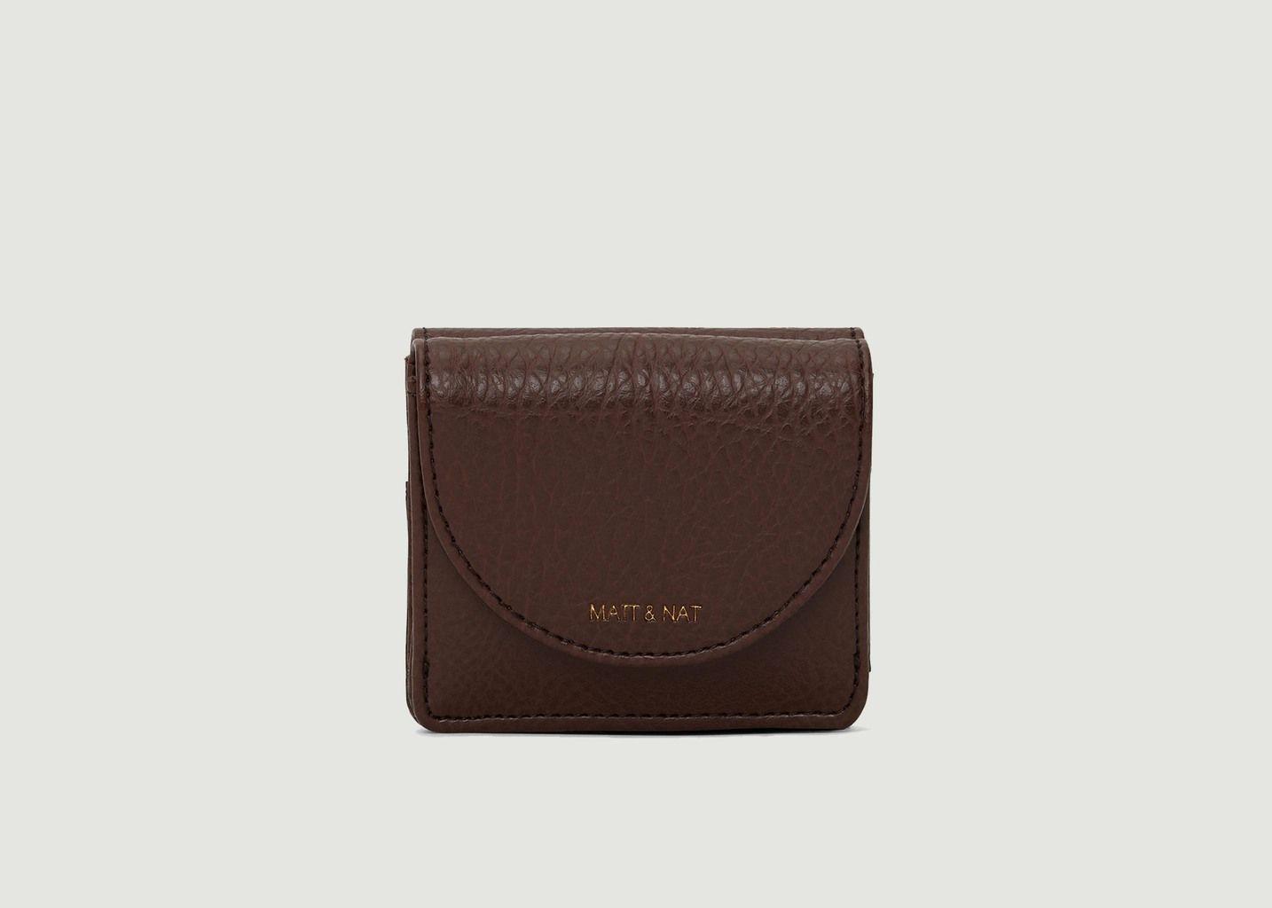 Petit portefeuille effet cuir Farre Dwell - Matt & Nat