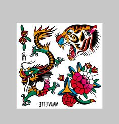 Tattoo Dragon // Original Guest