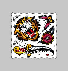 Tattoo Tigre // Perle