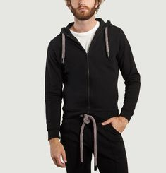 Hoodie High Frequency Pictogram & Climbing Cord