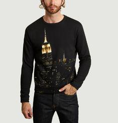 Sweatshirt Print Empire State