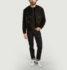 Bomber Jacquard Empire State