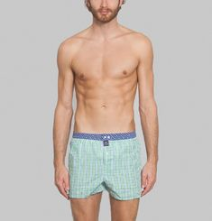 Chequered Boxer Shorts