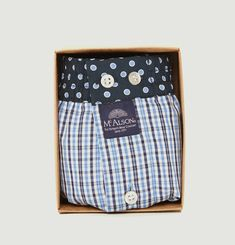Chequered Boxers