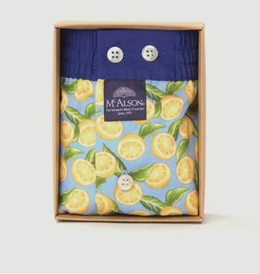 Caleçon Imprimé Citrons