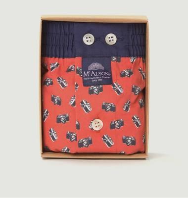 Camera Printed Boxer Shorts
