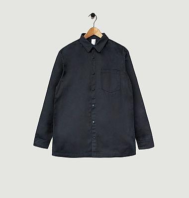 Chemise à boutons-pression