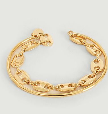 Vaporetto double bangle bracelet