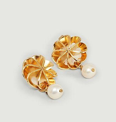 Boucles d'oreilles avec perle de culture Vérone Medium