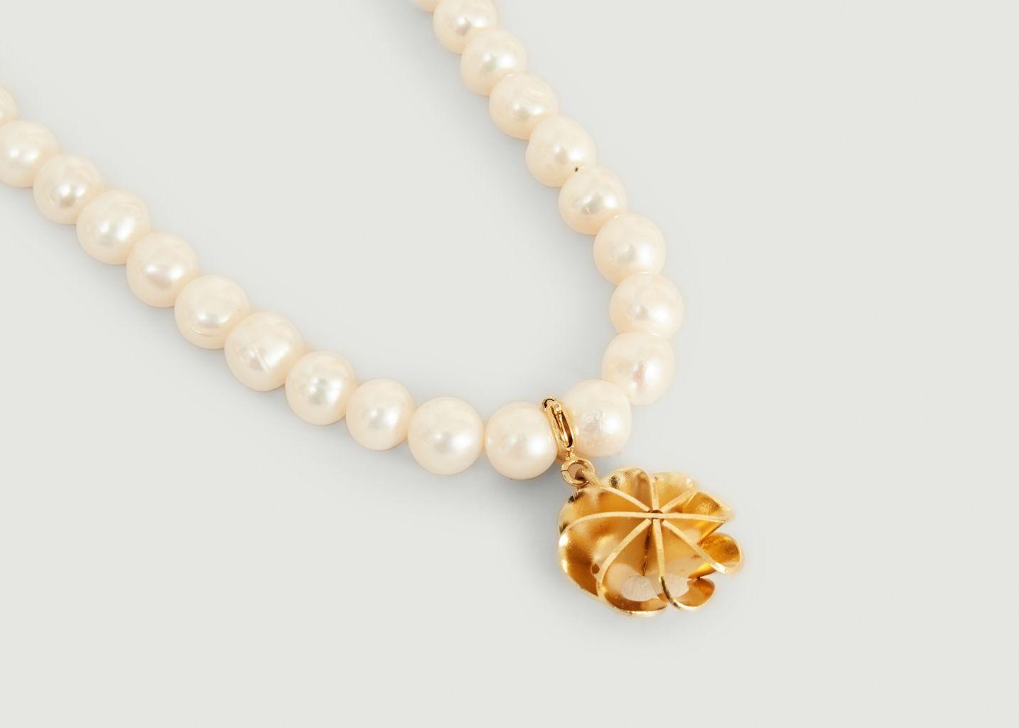 Collier perles de culture et charms Vérone - Medecine Douce