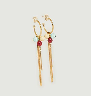 Boucles d'oreilles Wildberry small