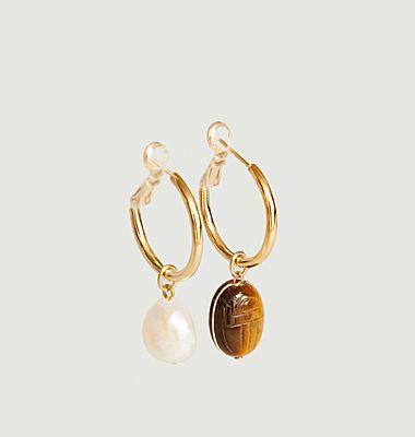 Boucles d'oreilles Ximena medium