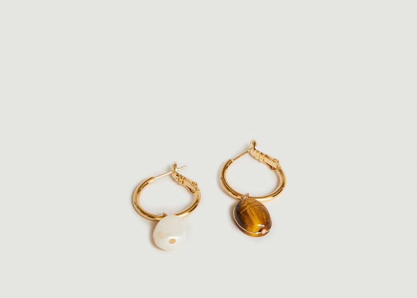 Boucles d'oreilles Ximena medium - Medecine Douce