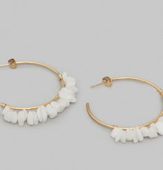 Poseidon Hoop Earrings