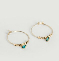 Qwark Hoop Earrings