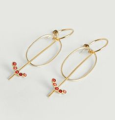 Woodstock Hoop Earrings