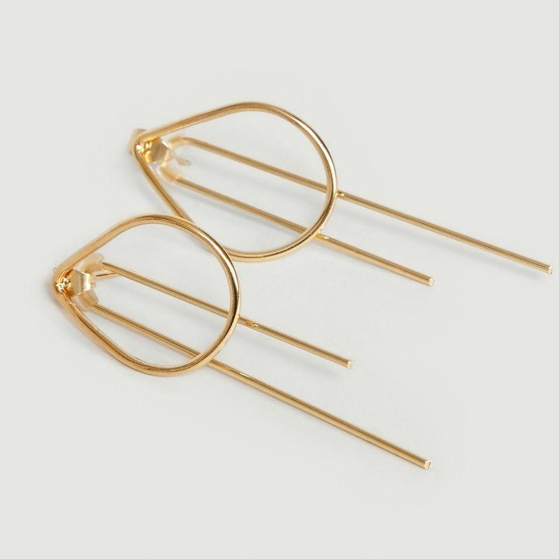 Boucles d'Oreilles Turandot - Medecine Douce