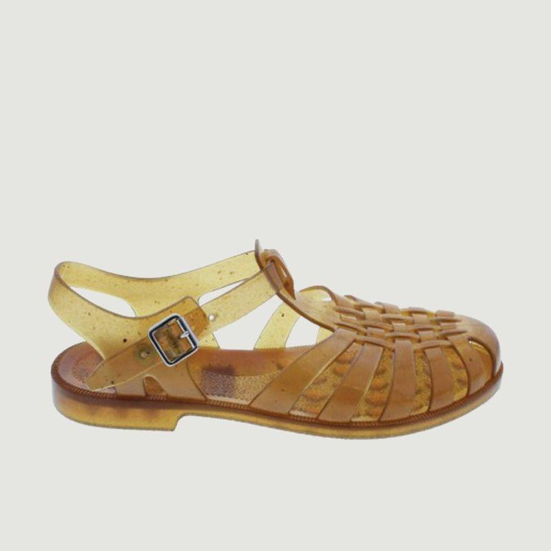 Sandale en PVC Chanvre - Méduse