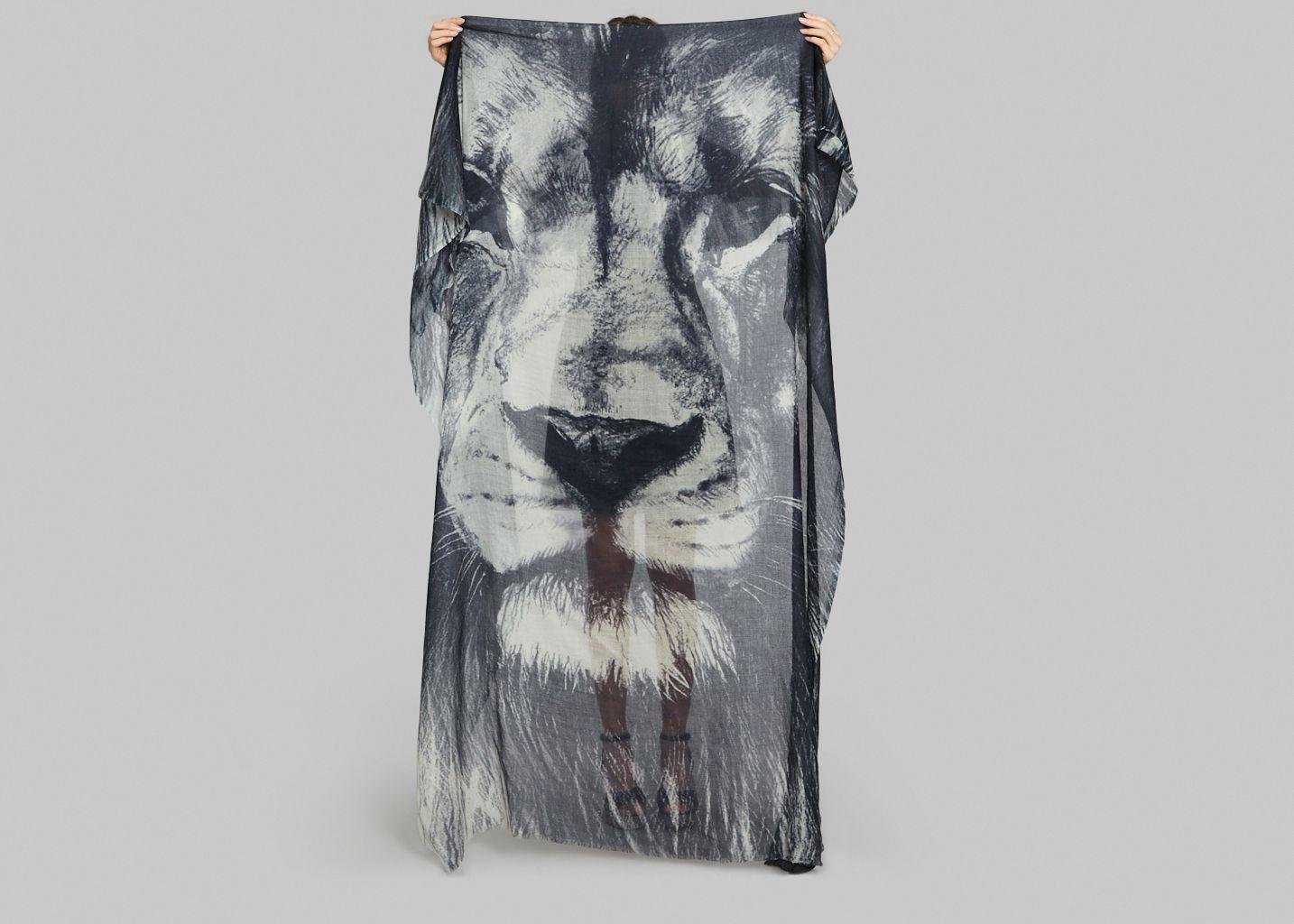 Foulard Lion - Meesha