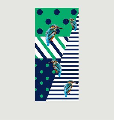 Foulard En Micro Modal Kingfisher