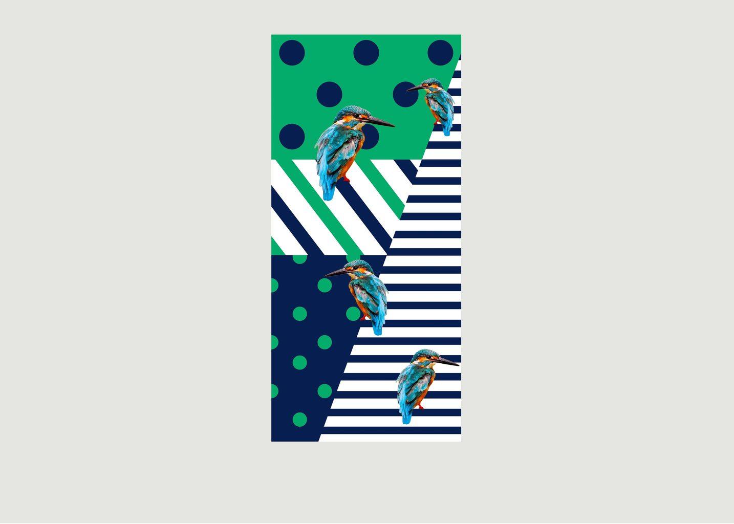Foulard En Micro Modal Kingfisher - Meesha
