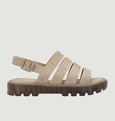 Sandales Croco Plateformes