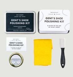 Gent's Shoe Polishing Kit