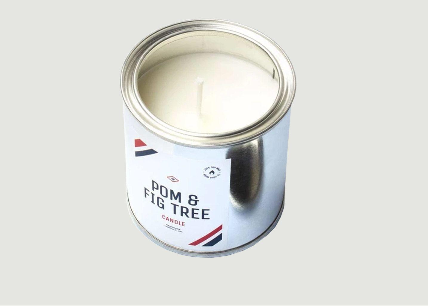 Bougie Pot de Peinture Grenade et Figue - Men's Society