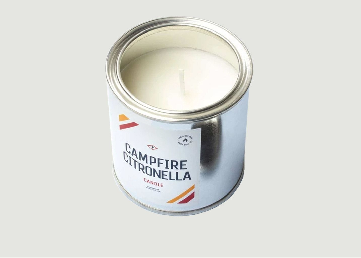 Bougie Pot Peinture Campfire Citronella - Men's Society