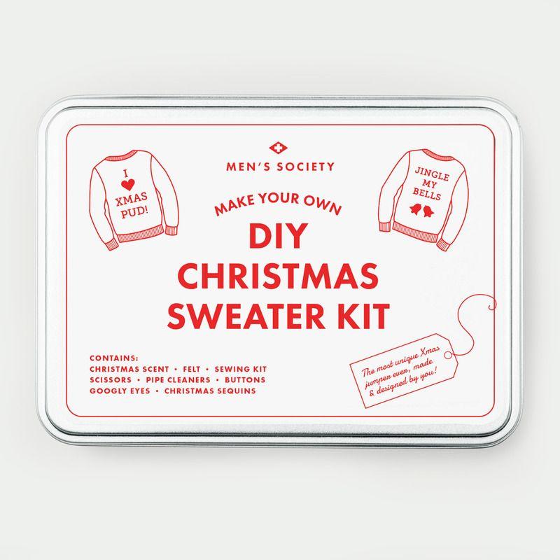 Kit DIY Sweat de Noël - Men's Society