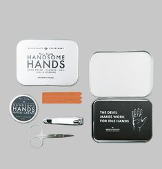 Handsome Hands Manucure Kit