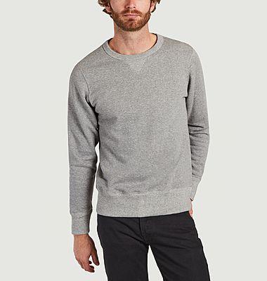 Sweatshirt coupe classique en coton bio