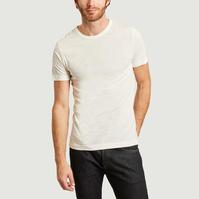 T-shirt en coton bio 1950s - Merz b Schwanen