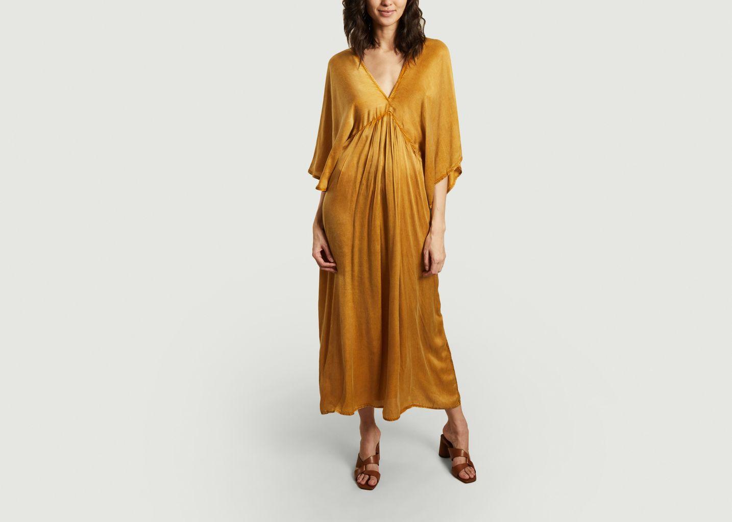 Robe longue Or Smooth - Mes Demoiselles