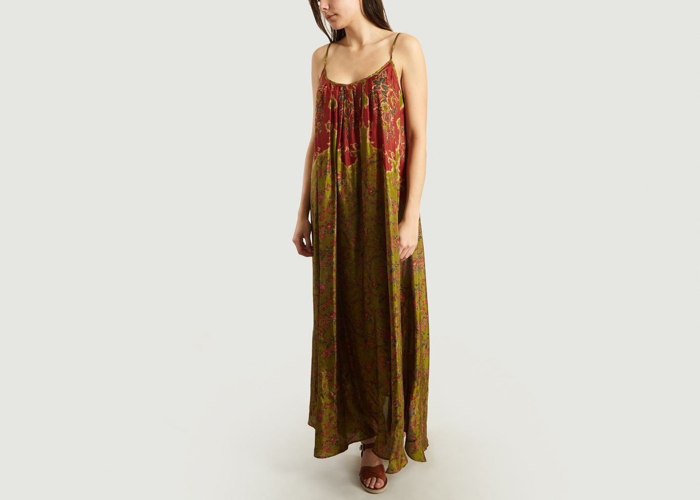 Robe Longue En Soie Dalila - Mes Demoiselles