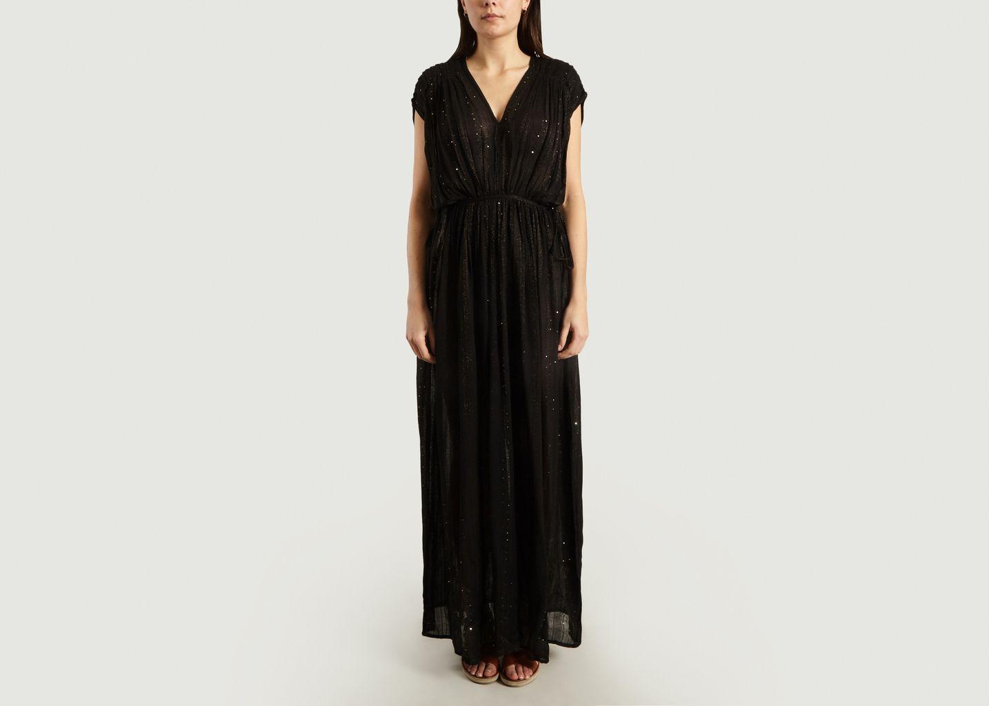 Robe Longue A Sequins Nokomis - Mes Demoiselles