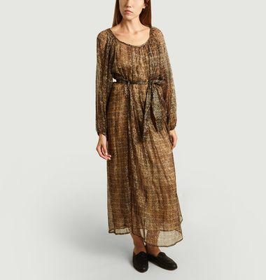 Robe Longue Raissa Voile Imprimé