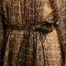 matière Robe Longue Raissa Voile Imprimé - Mes Demoiselles