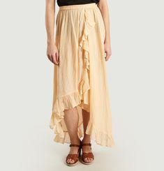 Otello Asymmetric Ruffle Skirt