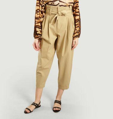 Pantalon Kala Large Taille Haute
