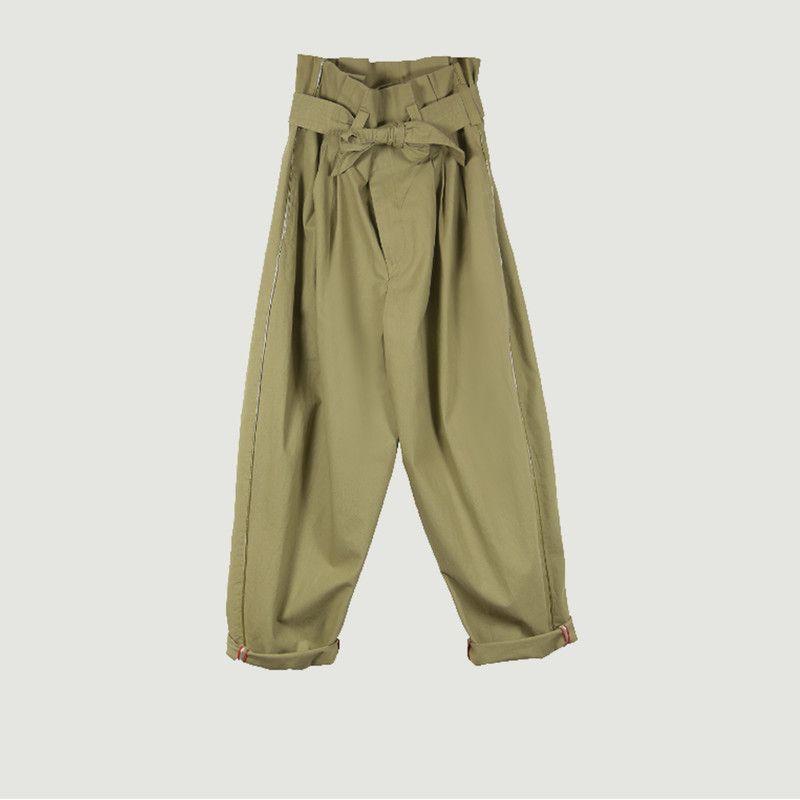 Pantalon Kala Large Taille Haute - Mes Demoiselles