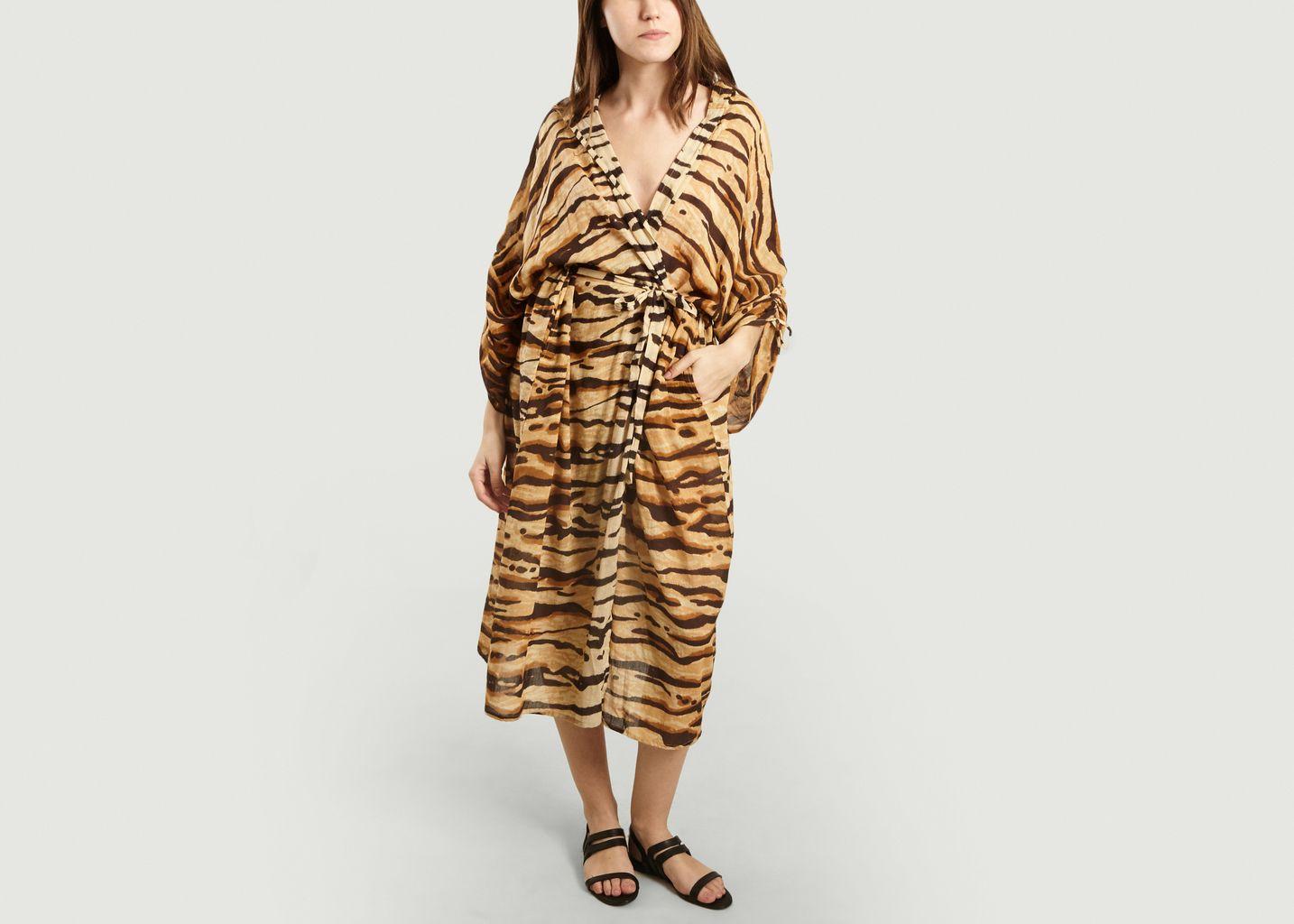 Kimono Bengala Imprimé Tigre - Mes Demoiselles