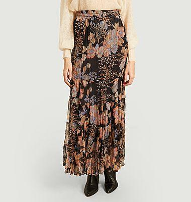 Henna long skirt