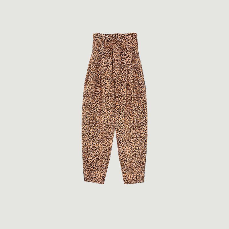 Pantalon Chery imprimé léopard - Mes Demoiselles