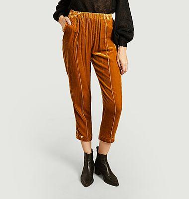 Pantalon en velours Belami