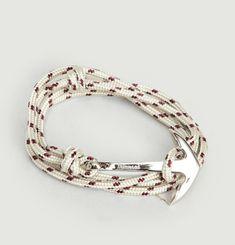 Anchor On Rope Bracelet